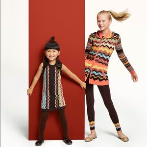 Missoni for Target Girls Chevron Knit Dress
